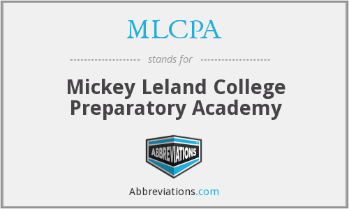What does MLCPA stand for?