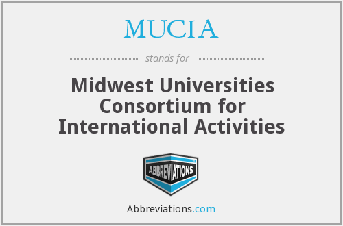 What does MUCIA stand for?