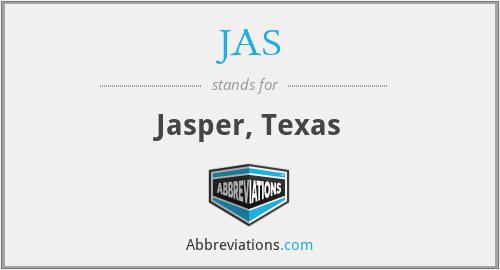 JAS - Jasper, Texas