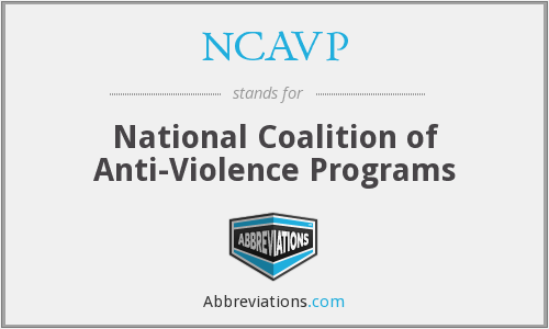 What does NCAVP stand for?