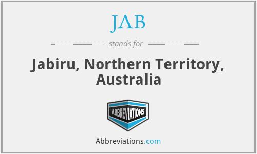 JAB - Jabiru, Northern Territory, Australia