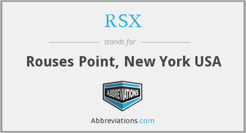What does RSX stand for?