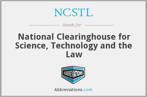 What does NCSTL stand for?