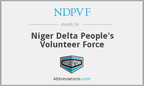 What does NDPVF stand for?