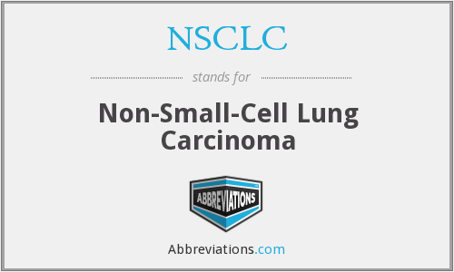 NSCLC - Non-Small-Cell Lung Carcinoma