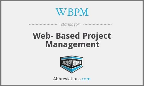 What does WBPM stand for?