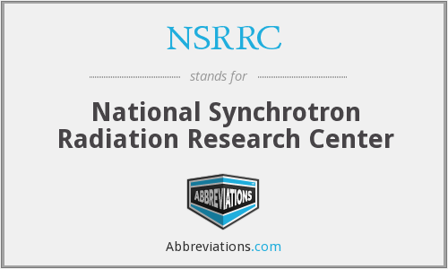 What does NSRRC stand for?
