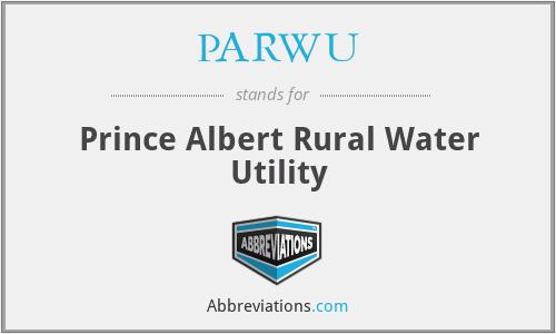 PARWU - Prince Albert Rural Water Utility