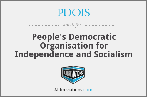 What does PDOIS stand for?