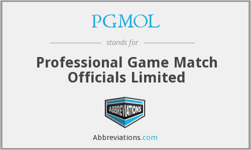 What does PGMOL stand for?