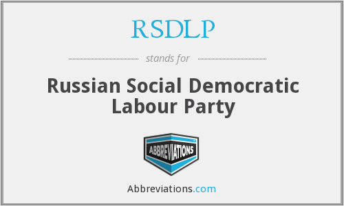 What does RSDLP stand for?