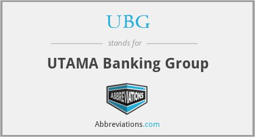 UBG - UTAMA Banking Group