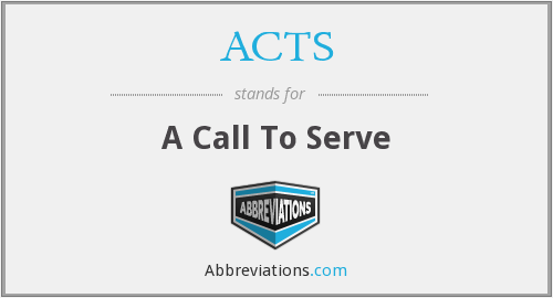 What does ACTS stand for?