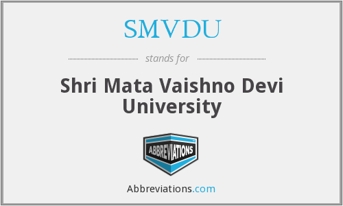 What does SMVDU stand for?