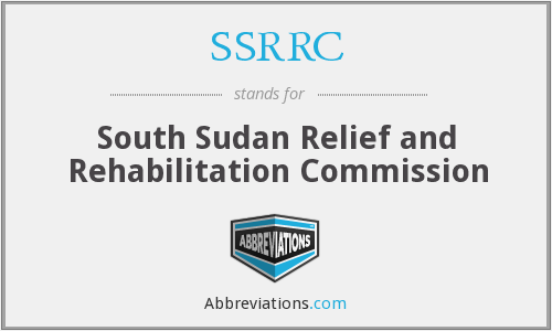 SSRRC - South Sudan Relief and Rehabilitation Commission