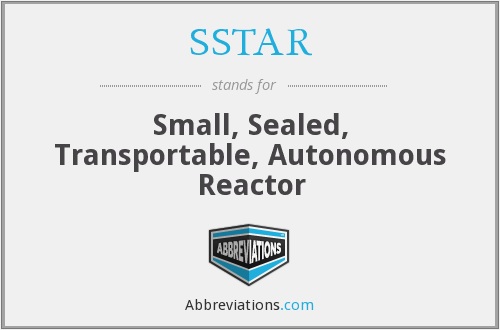 What does SSTAR stand for?