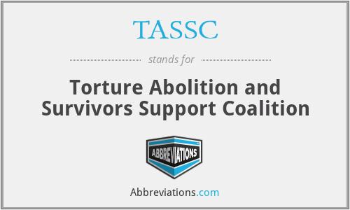 TASSC - Torture Abolition and Survivors Support Coalition