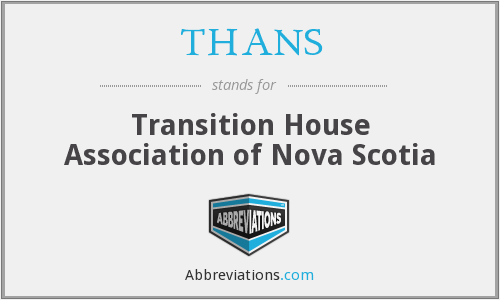 What does THANS stand for?