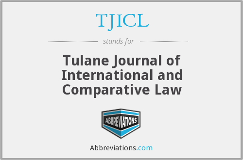 What does TJICL stand for?