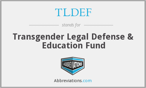What does TLDEF stand for?