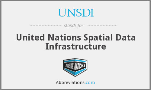 What does UNSDI stand for?