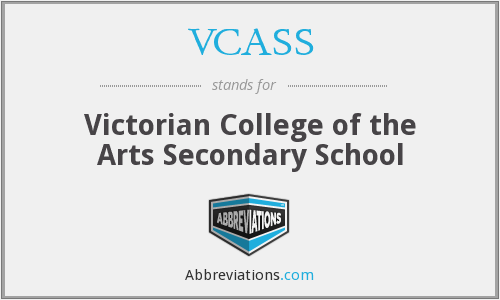 What does VCASS stand for?
