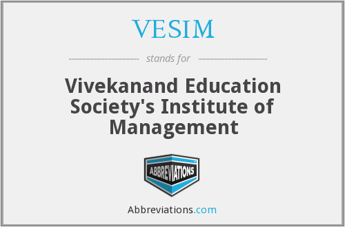 What does VESIM stand for?