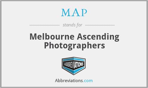 MAP - Melbourne Ascending Photographers