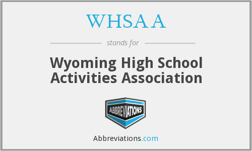 What does WHSAA stand for?
