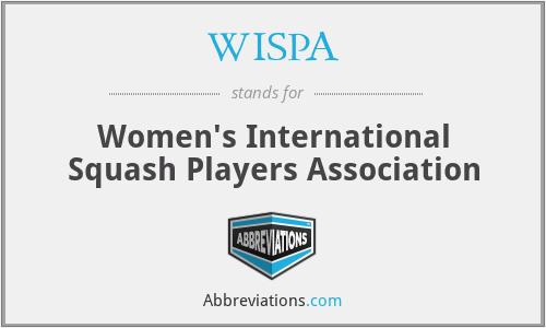 WISPA - Women's International Squash Players Association