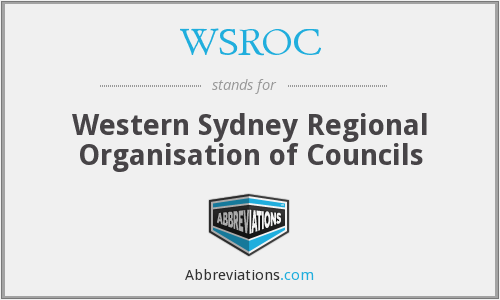 What does WSROC stand for?