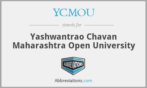 YCMOU - Yashwantrao Chavan Maharashtra Open University