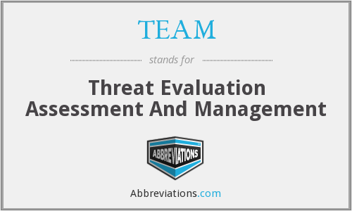 TEAM - Threat Evaluation Assessment And Management