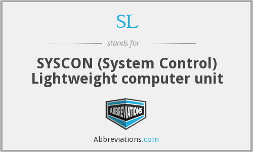 SL - SYSCON (System Control) Lightweight computer unit