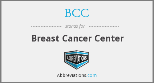 BCC - Breast Cancer Center