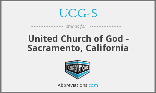 What does UCG-S stand for?
