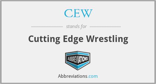 CEW - Cutting Edge Wrestling
