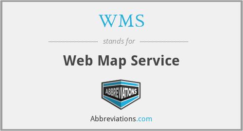 WMS - Web Map Service