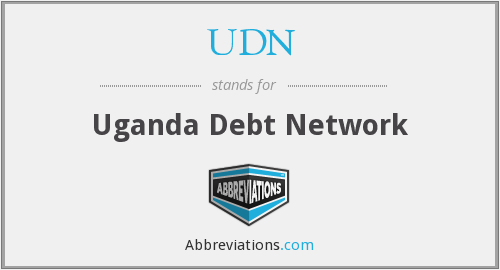 UDN - Uganda Debt Network