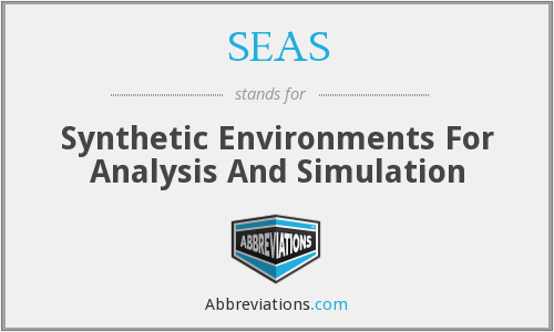 SEAS - Synthetic Environments For Analysis And Simulation