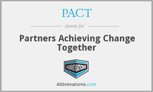 PACT - Partners Achieving Change Together