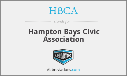What does HBCA stand for?