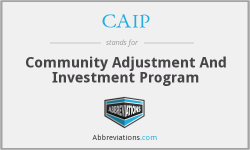 What does CAIP stand for?