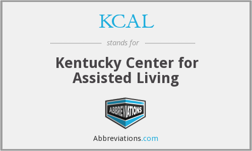 KCAL - Kentucky Center for Assisted Living