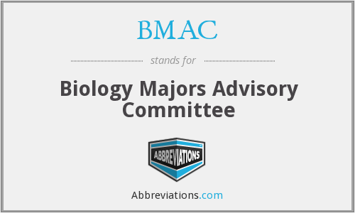 BMAC - Biology Majors Advisory Committee