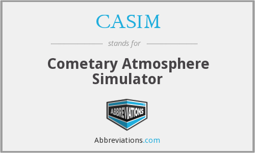 What does CASIM stand for?