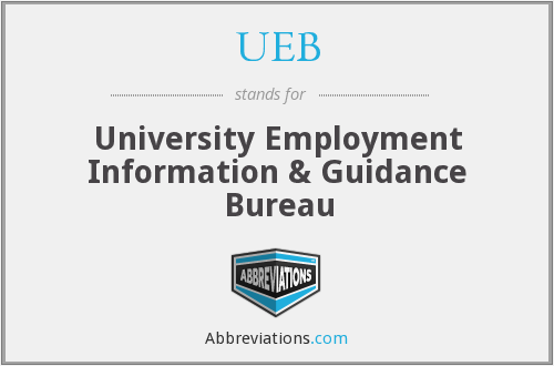 What does UEB stand for?
