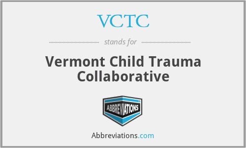 VCTC - Vermont Child Trauma Collaborative