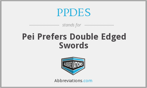 What does PPDES stand for?