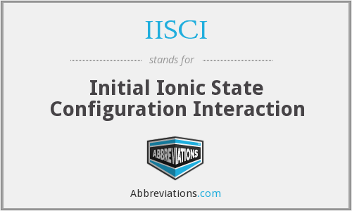 What does IISCI stand for?
